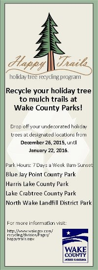 Wake County Parks and Recreation Short Term